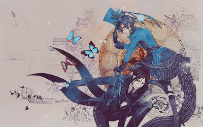 Kuroshitsuji_The time wall by lady-alucard