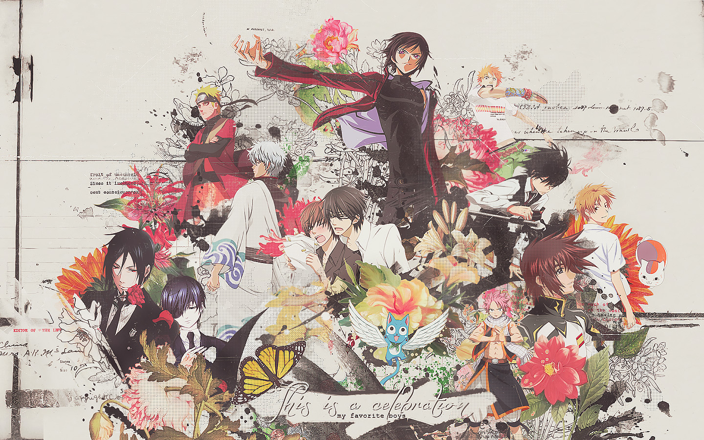 Garden of boys wallpaper_-_my celebration by lady-alucard
