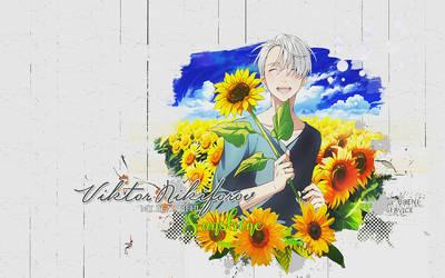 Wallpaper Viktor Nikiforov Sunflower