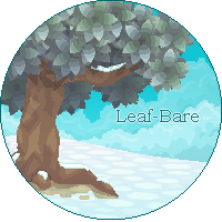 A Tree In Leaf-Bare Pixel