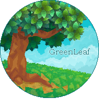 A Tree In GreenLeaf Pixel by SkywardSylphina