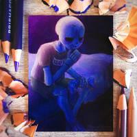 Insomnia ACEO Card by SkywardSylphina