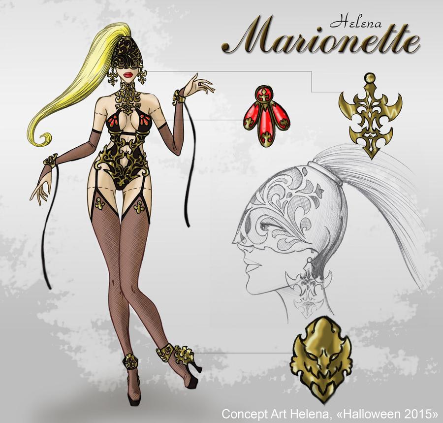 Helena - Marionette by Savtsov