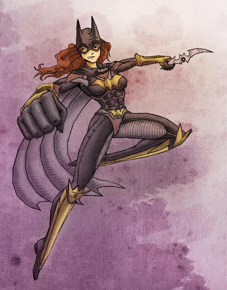 Batgirl by Savtsov