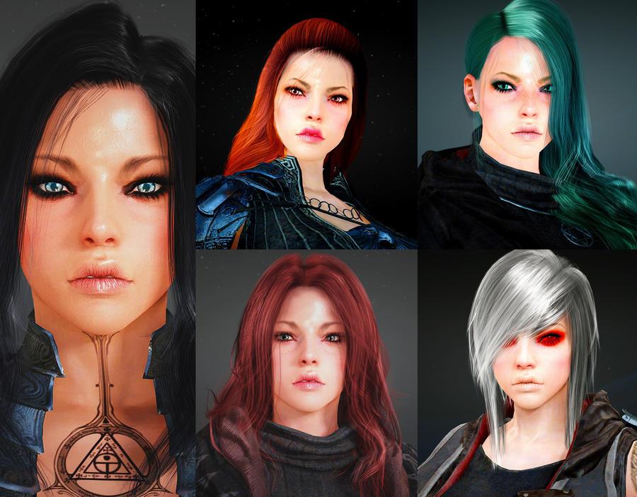 Black Desert skin class Sorcerer - Rena by Savtsov