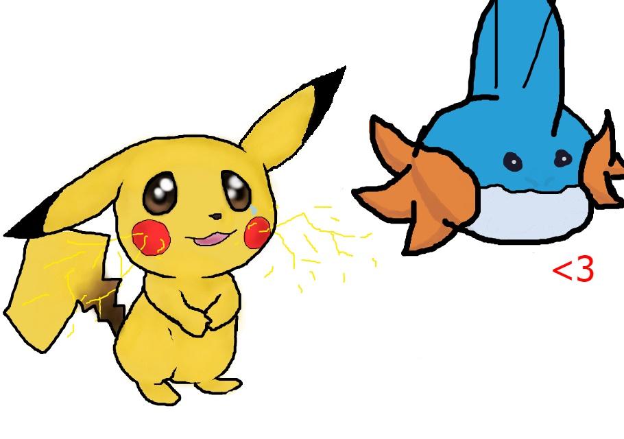 Flockmod with PikachuJenn by Kaylee-Senpai