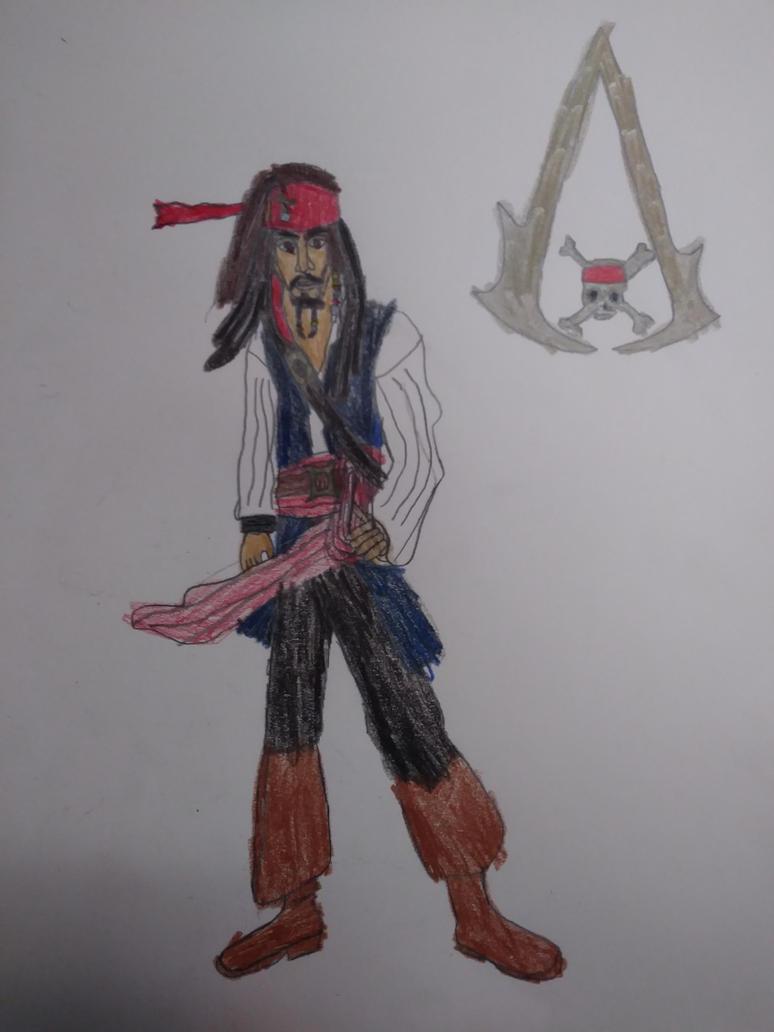 Captain Jack Sparrow Assassin's Creed AU by Capitan-JackSparrow
