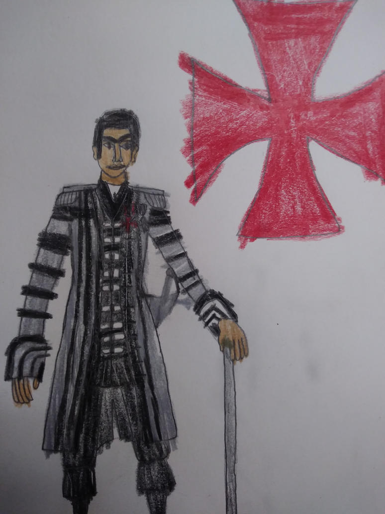 Armando Salazar Pirate hunting Templar by Capitan-JackSparrow