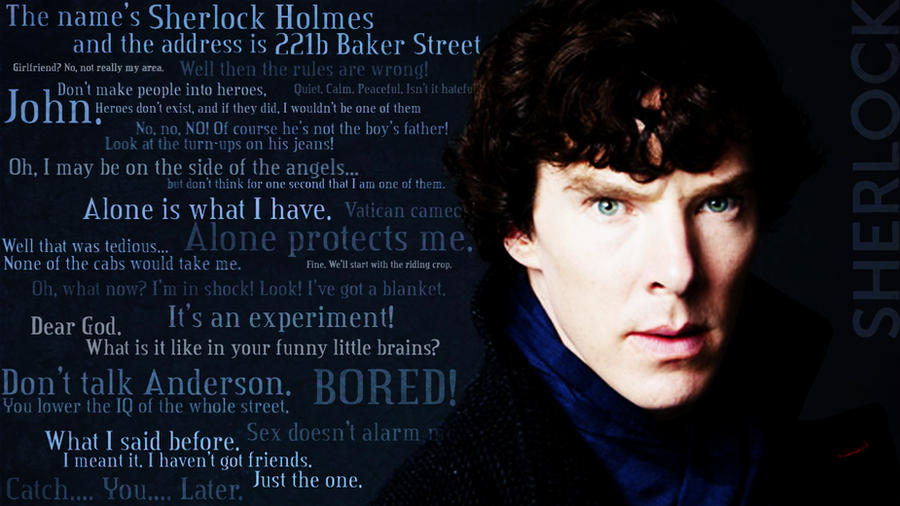 Exceptional Sherlock Quotes By TheVentVenturer ...