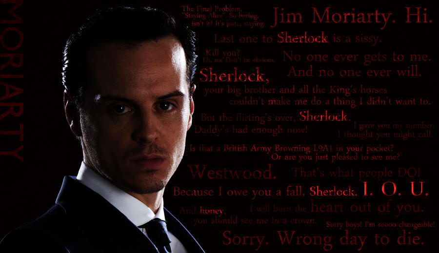 Moriarty Quotes by TheVentVenturer
