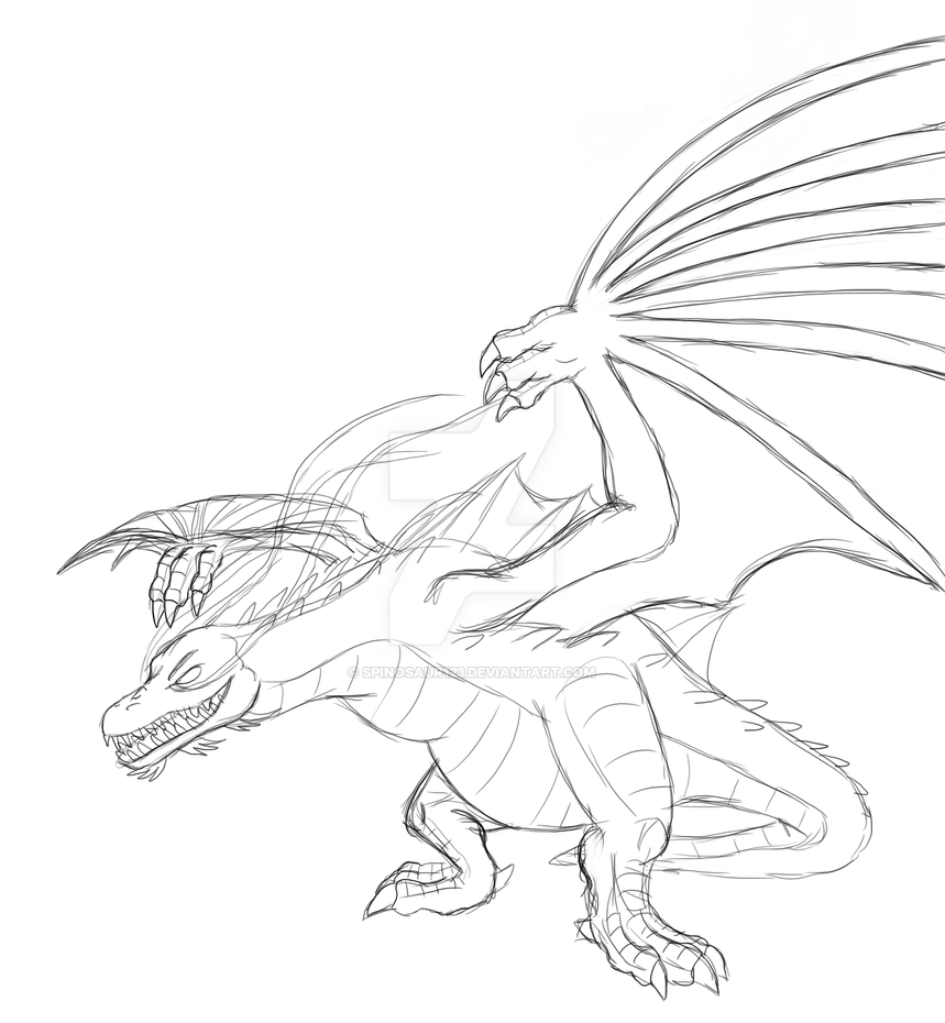 Garmadon S Overlord Dragon Form By Spinosaur123 On Deviantart