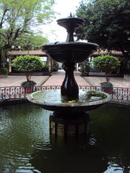 Yes, a fountain