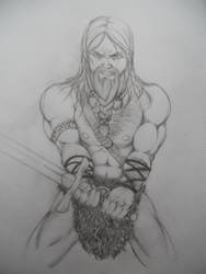 Some pissed off barbarian