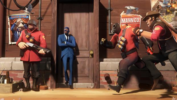 Team Fortress: Spy