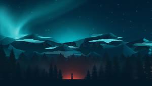 Flat landscape [15] - A night full of magic