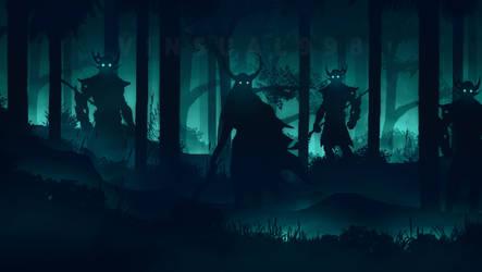 Flat landscape [25] - Demon Soldiers