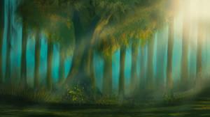 Digital Painting [6] - Heaven on earth