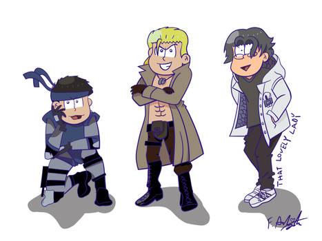 Metal Gear Osomatsu-san