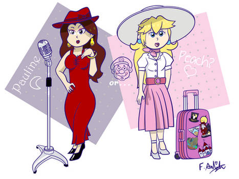 Pauline or Peach