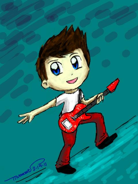 Matt tegaki draw by katribou