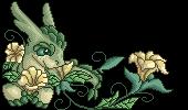 Azaree flower pixel by embea
