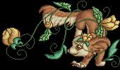 Ateala flower pixel by embea