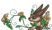 Ziple flower pixel by embea