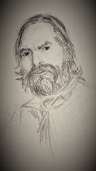 Murtagh Fitzgibbons (Duncan Lacroix) Outlander by melzilla
