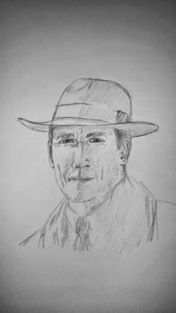 Frank Randall (Tobias Menzies) Outlander, Gabaldon