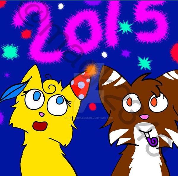 Happy new years by Redpandaseas