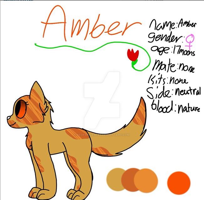 Ambers Ref by Redpandaseas