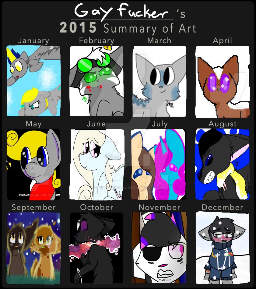 Art summary 2015 by Redpandaseas