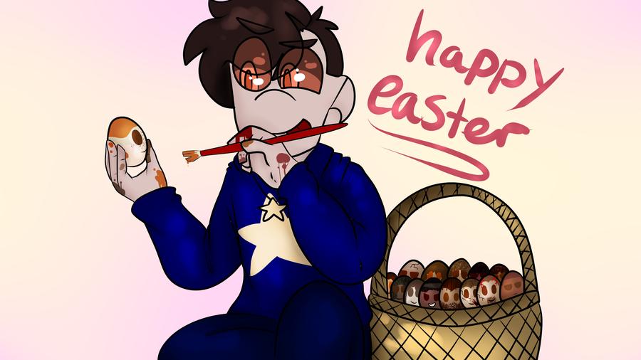 Happy Easter by Redpandaseas