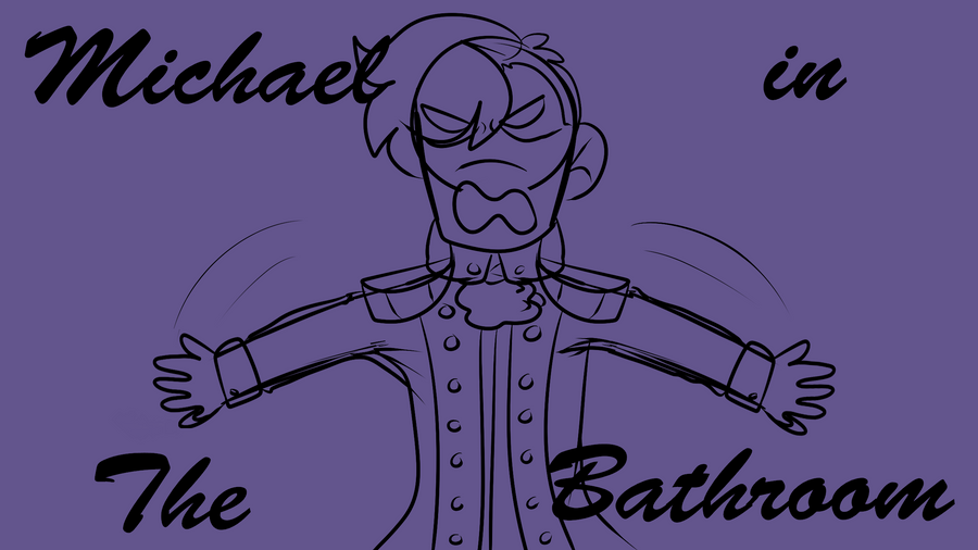 Michael in the bathroom (short animatic) by Redpandaseas