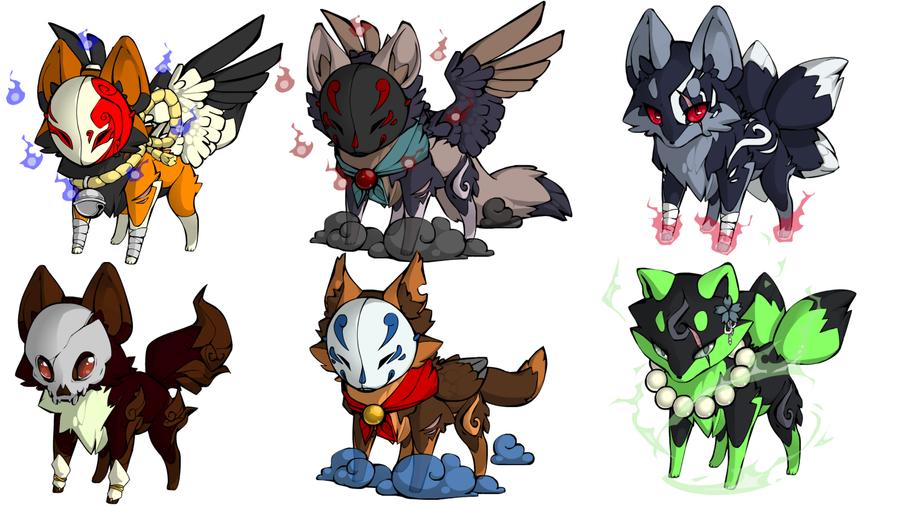 Fox Adopts (open) by Redpandaseas