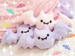 Pastel Bat Plush Toys