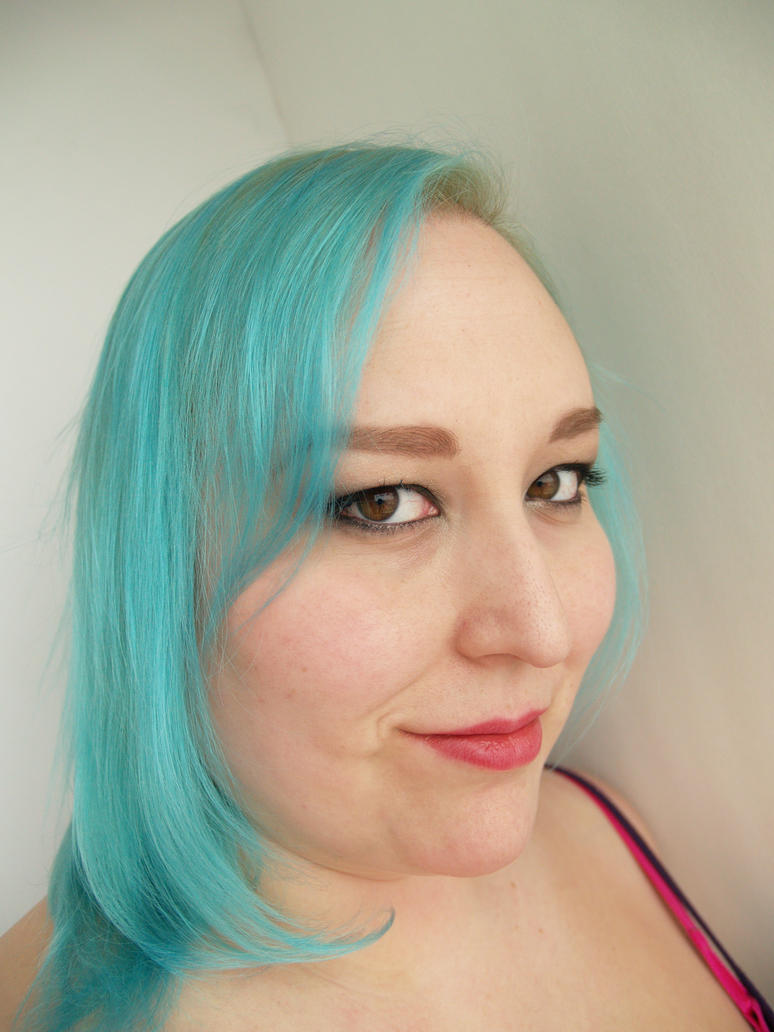 blue hair by earthly-delight