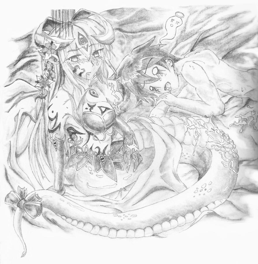 Monster girl quest alice x luka