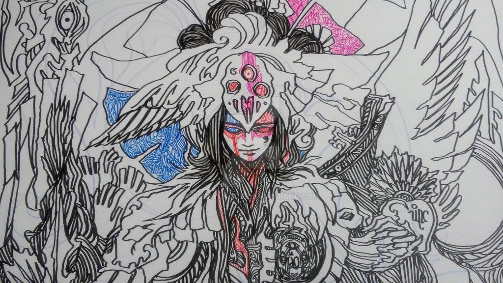 untitled charity doodles 001 by terrylknox