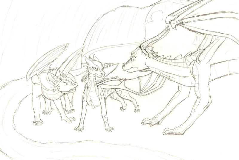 Wings of fire an introduction by dracaine on deviantart for Wings of fire coloring page