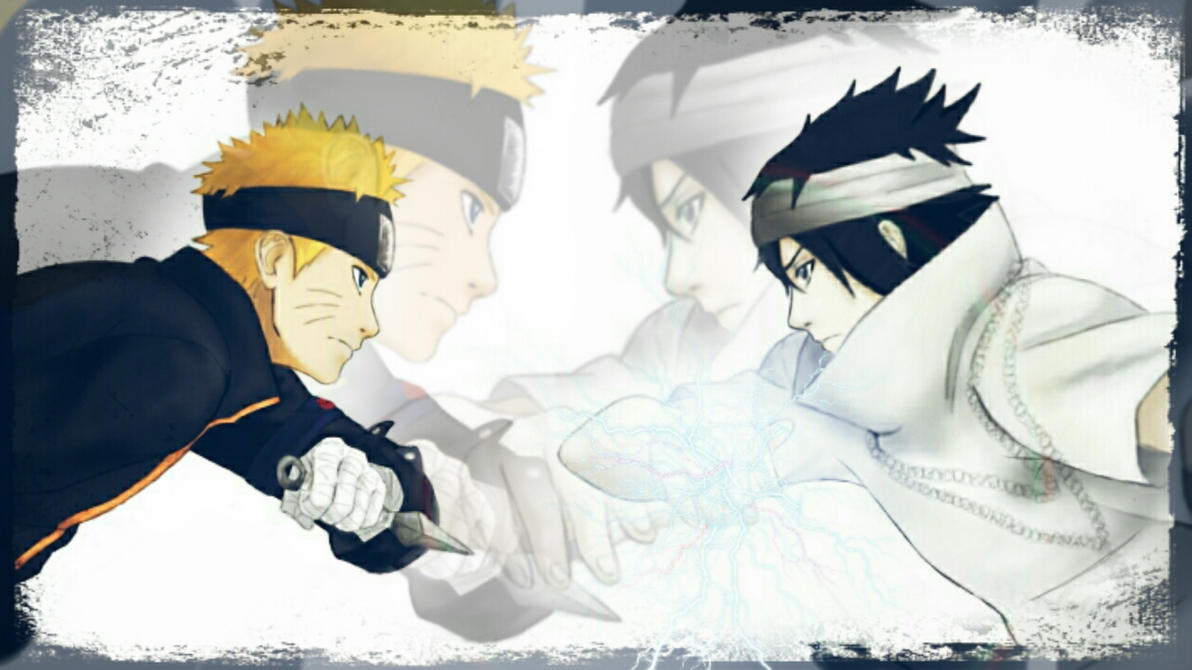 Naruto the last. Sasuke vs Naruto by Miluto17 on DeviantArt