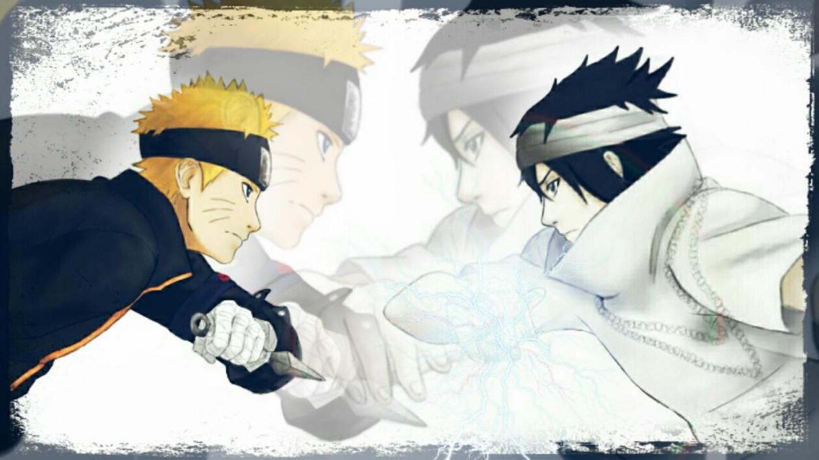 Naruto the last. Sasuke vs Naruto by Miluto17 on DeviantArt