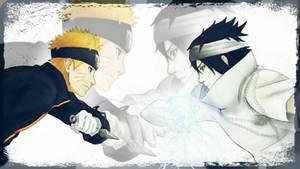 Naruto the last. Sasuke vs Naruto by Miluto17