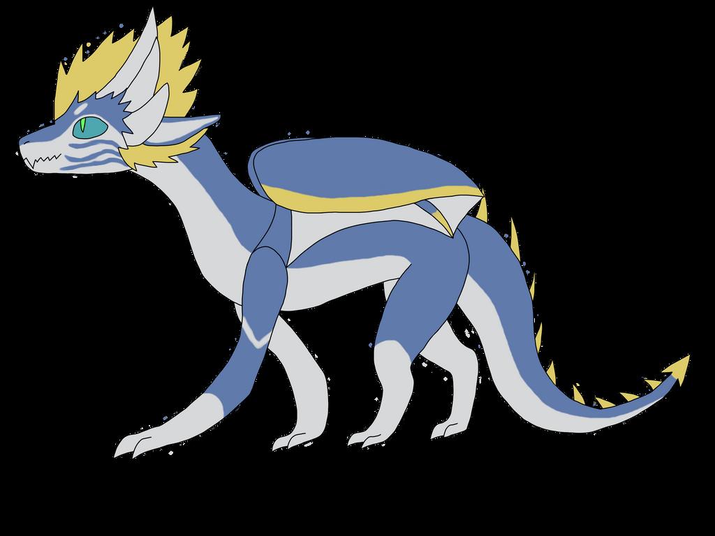 Rithoi Dragon Form by Reitakur0