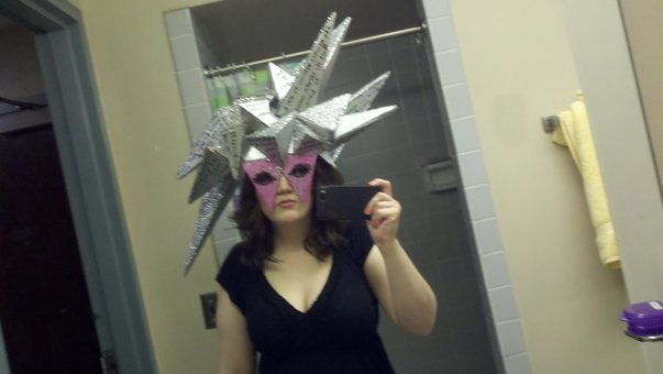 Gaga headpiece by fatehappens6011