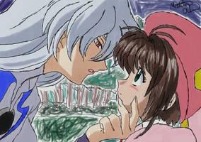 Card Captor Sakura kiss by RuttoSSJ