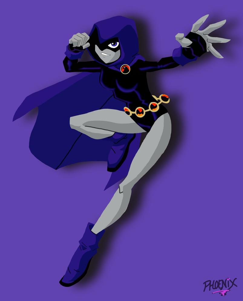 Teen Titans: Raven by mikuhatsume15