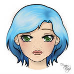 FanArt Portret: DestinyBlue