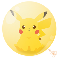 Pikachu by mikuhatsume15