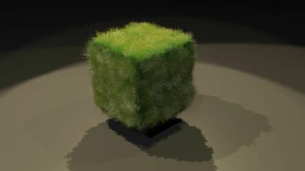 Grass Block Test Render